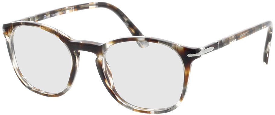 Picture of glasses model Persol PO3007VM 1124 50-19 in angle 330