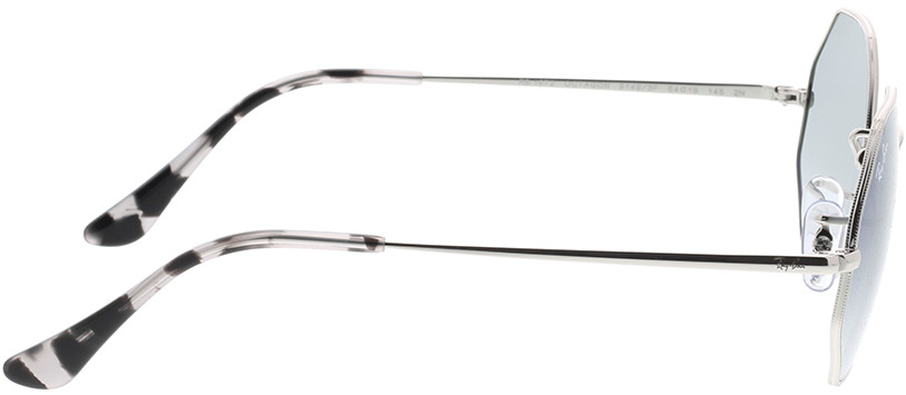 Picture of glasses model Ray-Ban RB1972 91493F 54-19 in angle 90