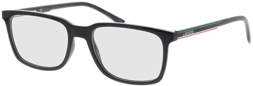 Picture of glasses model Lacoste L2859 001 54-18 in angle 330