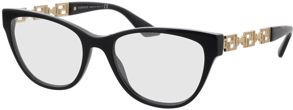 Picture of glasses model Versace VE3292 GB1 54-18 in angle 330