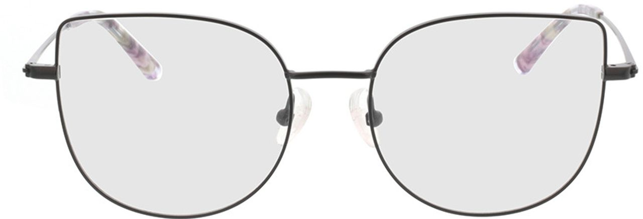Picture of glasses model Cassis-schwarz in angle 0