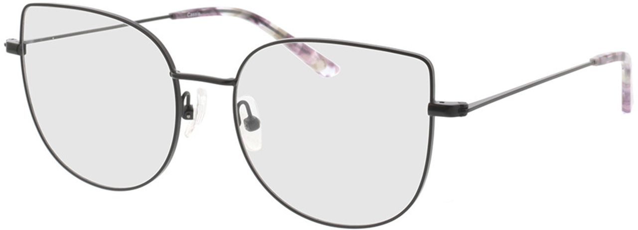 Picture of glasses model Cassis-schwarz in angle 330