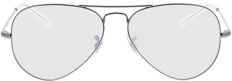 Picture of glasses model Ray-Ban RX6489 2502 55-14 in angle 0