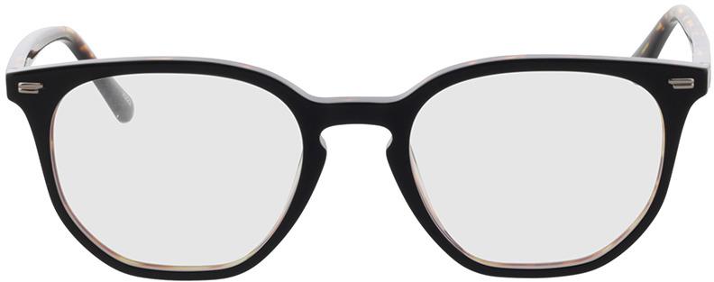 Picture of glasses model Addison-preto/castanho-mosqueado in angle 0