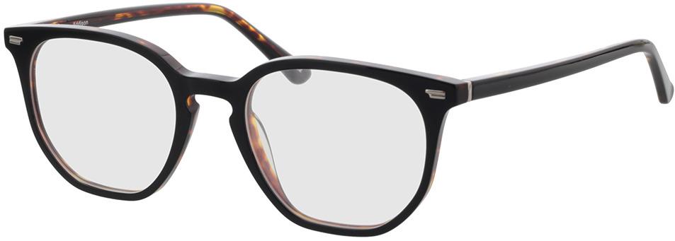 Picture of glasses model Addison-preto/castanho-mosqueado in angle 330