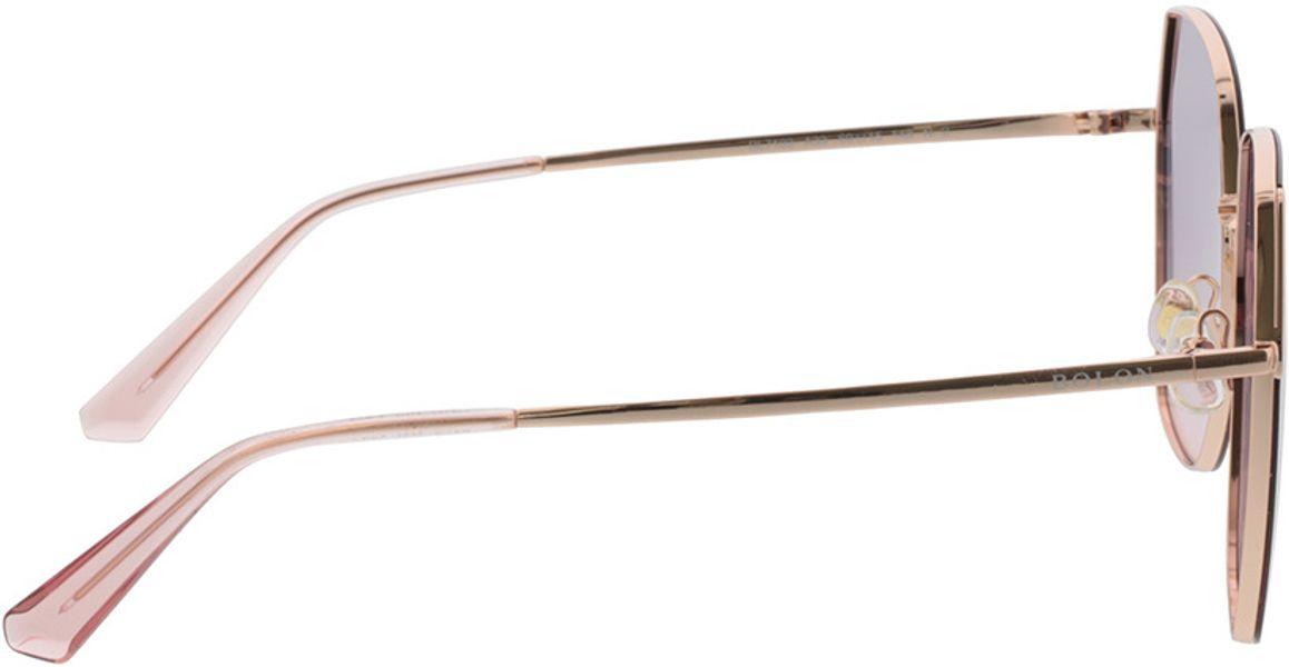 Picture of glasses model Bolon BL7103 A33 60-15 in angle 90