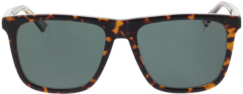 Picture of glasses model Polaroid PLD 2102/S/X KRZ 55-17 in angle 0