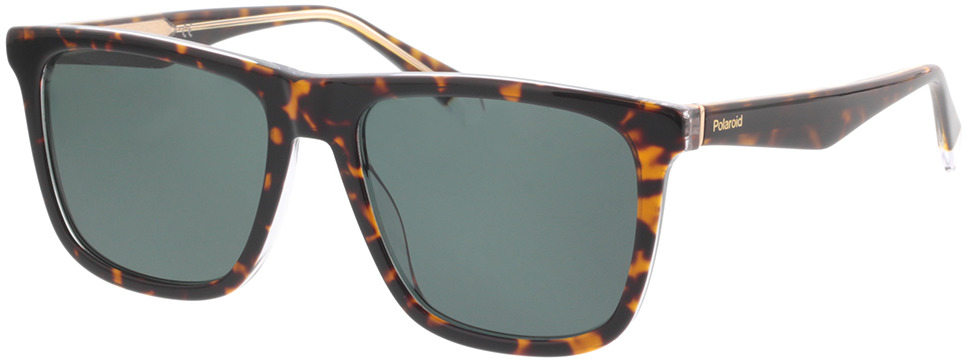 Picture of glasses model Polaroid PLD 2102/S/X KRZ 55-17 in angle 330