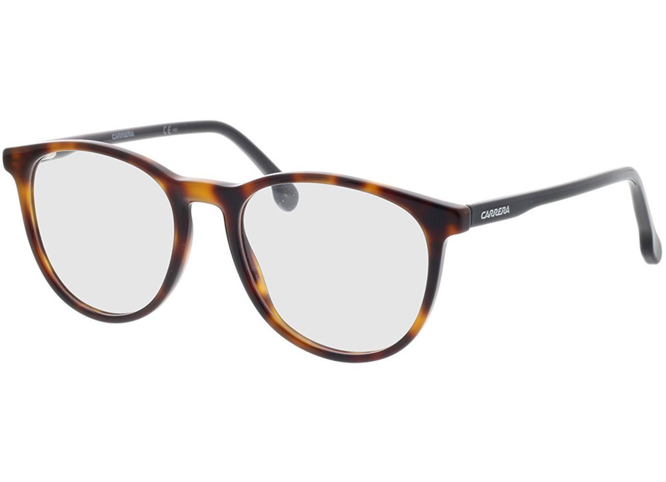 716736190846 Carrera CARRERA 214 SX7 51-18 Brillengestell inkl. Gläser, Herren, Vollrand, Rund