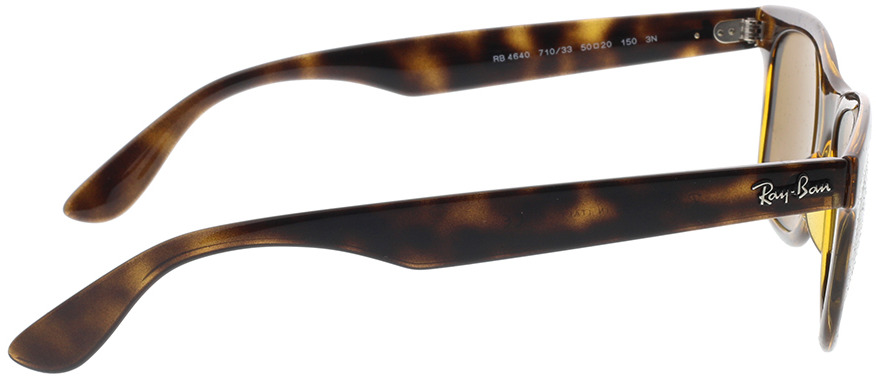 Picture of glasses model Ray-Ban RB4640 710/33 50-20 in angle 90