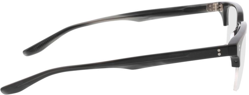 Picture of glasses model Cordis-schwarz in angle 90