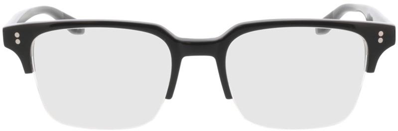 Picture of glasses model Cordis-schwarz in angle 0