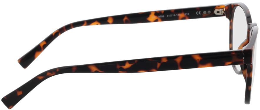 Picture of glasses model Poppy-havana in angle 90