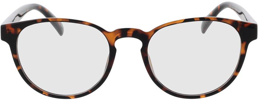 Picture of glasses model Poppy-havana in angle 0