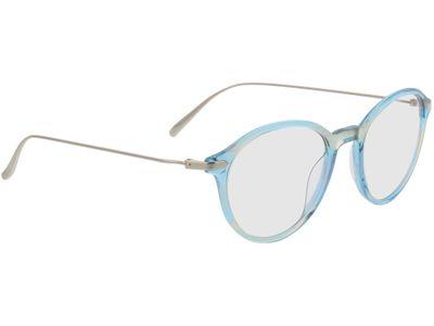 Brille Mataro-hellblau-transparent
