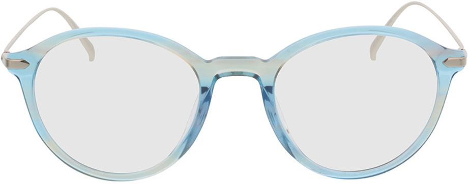 Picture of glasses model Mataro-blue_transparent in angle 0