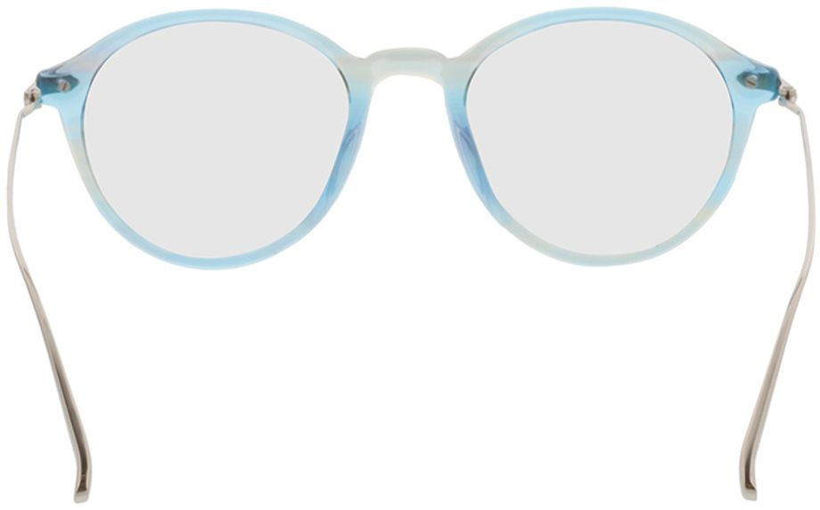 Picture of glasses model Mataro-blue_transparent in angle 180