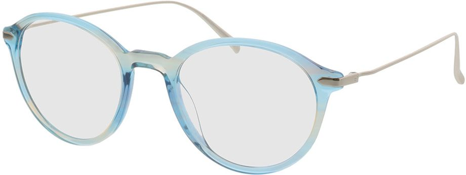 Picture of glasses model Mataro-blue_transparent in angle 330