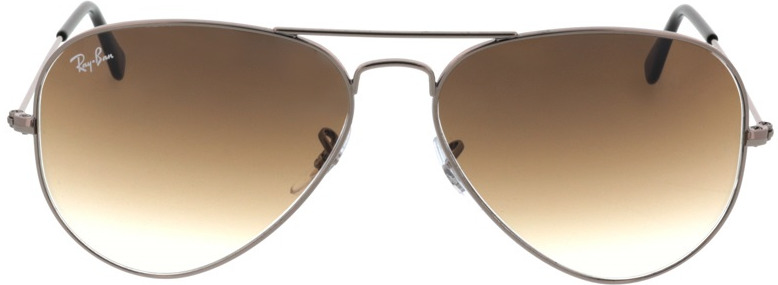 Picture of glasses model Ray-Ban Aviator RB3025 004/51 58-14 in angle 0