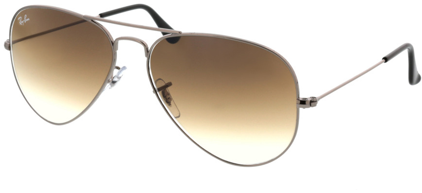 Picture of glasses model Ray-Ban Aviator RB3025 004/51 58-14 in angle 330