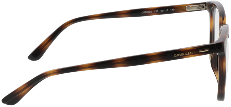 Picture of glasses model Calvin Klein CK20525 235 53-16 in angle 90