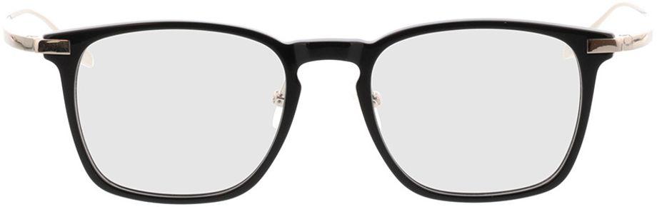 Picture of glasses model Rosebud-schwarz/silber in angle 0