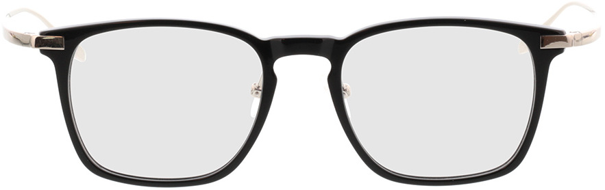 Picture of glasses model Rosebud-noir/argenté in angle 0