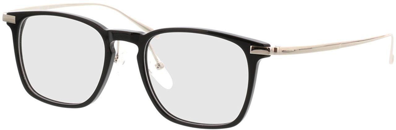 Picture of glasses model Rosebud-schwarz/silber in angle 330
