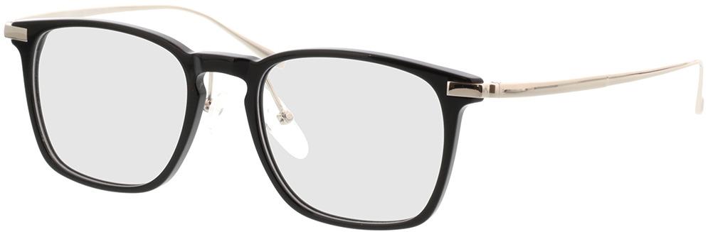 Picture of glasses model Rosebud-noir/argenté in angle 330