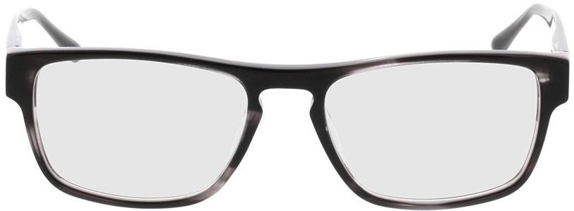 Picture of glasses model Franklin Zwart-gevlekt in angle 0