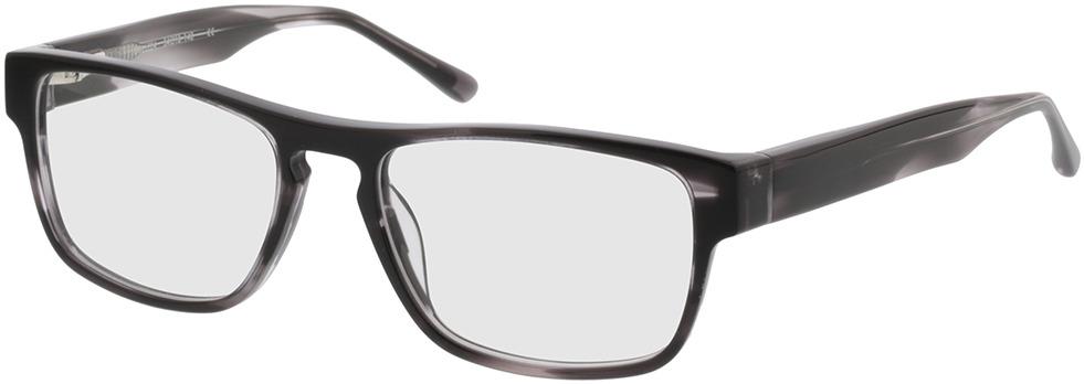 Picture of glasses model Franklin Zwart-gevlekt in angle 330