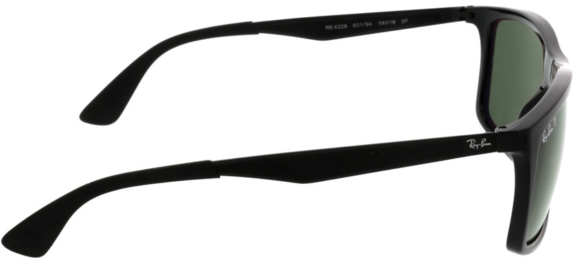 Picture of glasses model Ray-Ban RB4228 601/9A 58-18 in angle 90