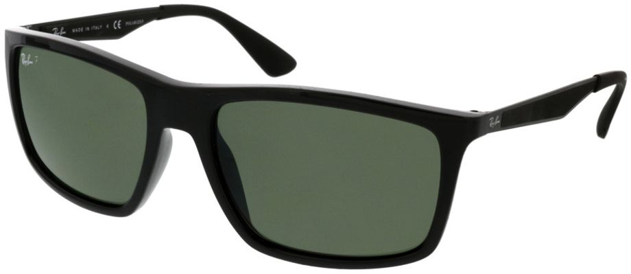 Picture of glasses model Ray-Ban RB4228 601/9A 58-18 in angle 330