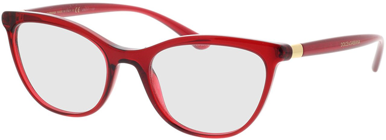 Picture of glasses model Dolce&Gabbana DG3324 550 52-19 in angle 330