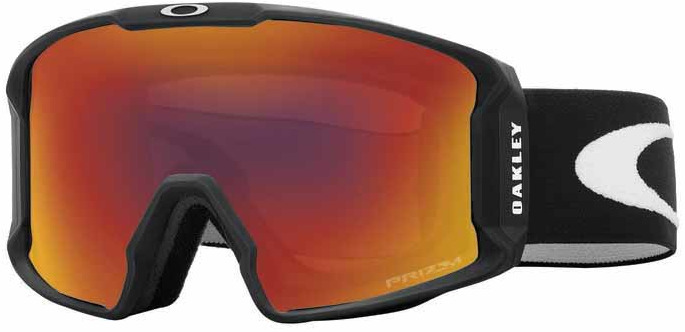 Picture of glasses model Oakley Skibrille LINE MINER OO7070 707002 in angle 90