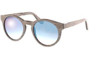 Sunglasses Au chalk oak/blue mirror 47-21