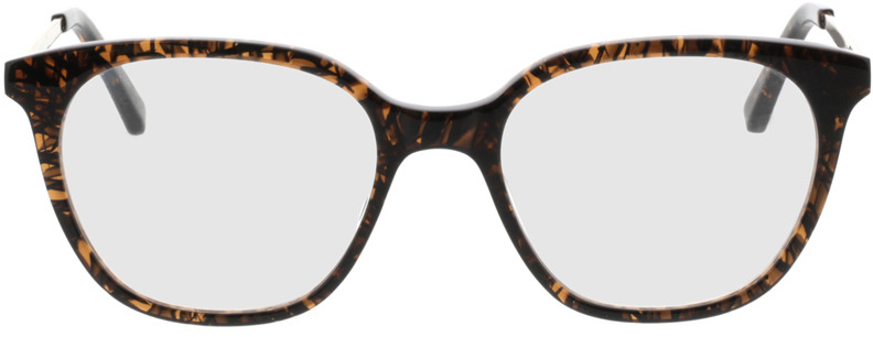 Picture of glasses model Cosma-braun/gold in angle 0