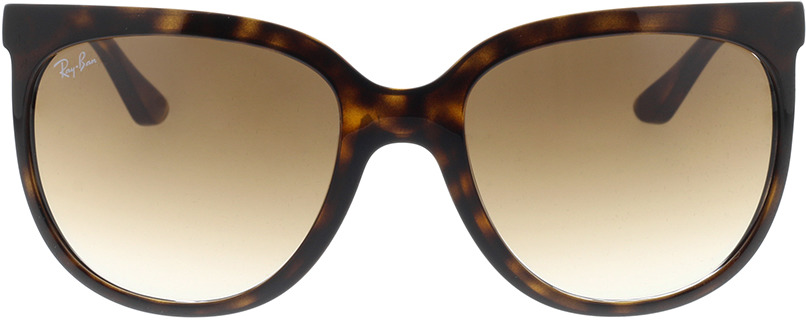 Picture of glasses model Ray-Ban Cats 1000 RB4126 710/51 57-19 in angle 0