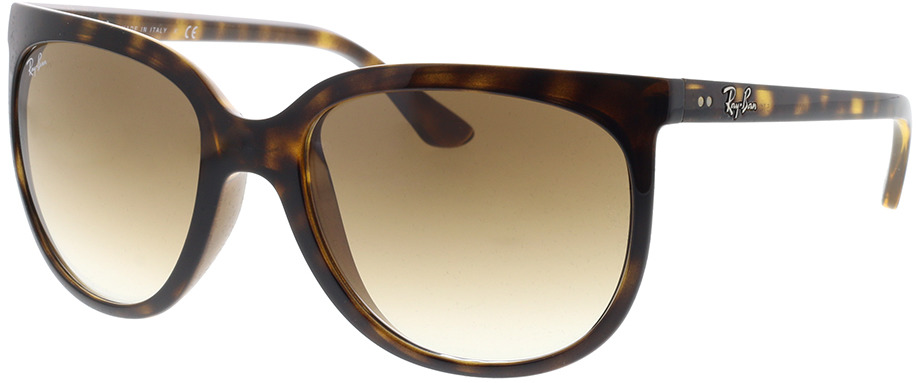 Picture of glasses model Ray-Ban Cats 1000 RB4126 710/51 57-19 in angle 330