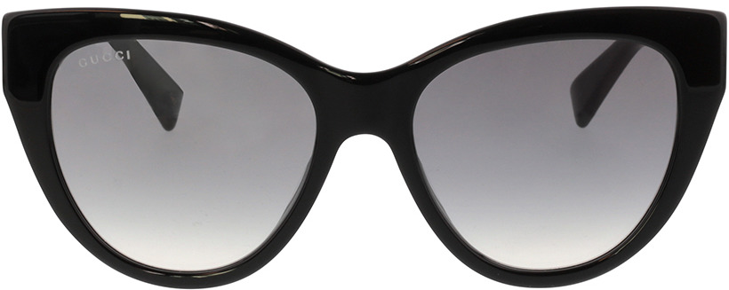 Picture of glasses model Gucci GG0460S-001 53-18 in angle 0