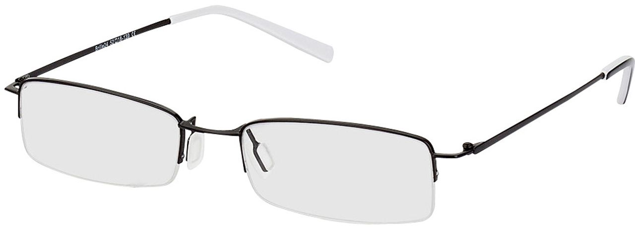 Picture of glasses model Exeter black in angle 330