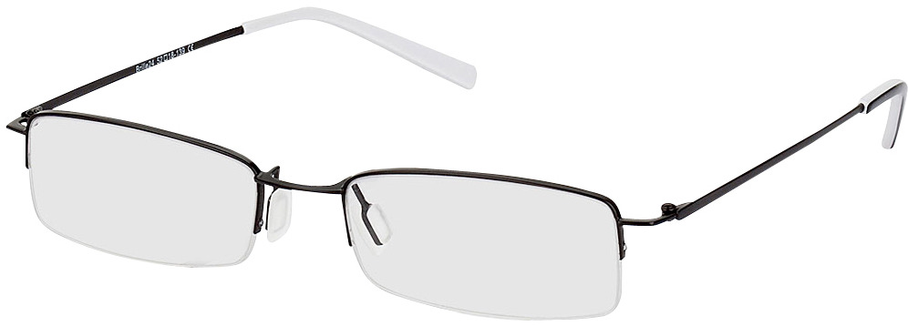Picture of glasses model Exeter-schwarz in angle 330