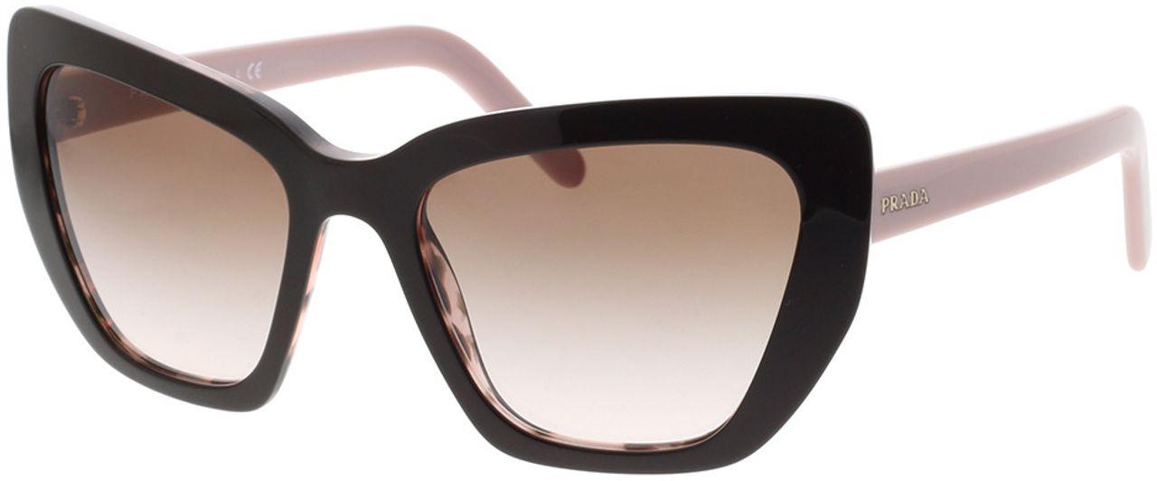 Picture of glasses model Prada PR 08VS ROL0A6 55-19 in angle 330