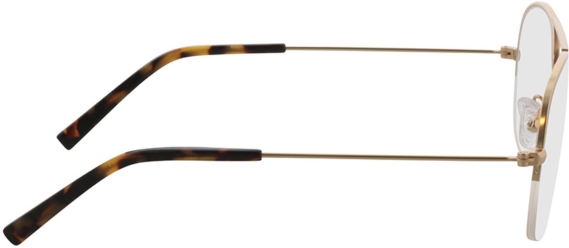 Picture of glasses model Jupiter-gold in angle 90