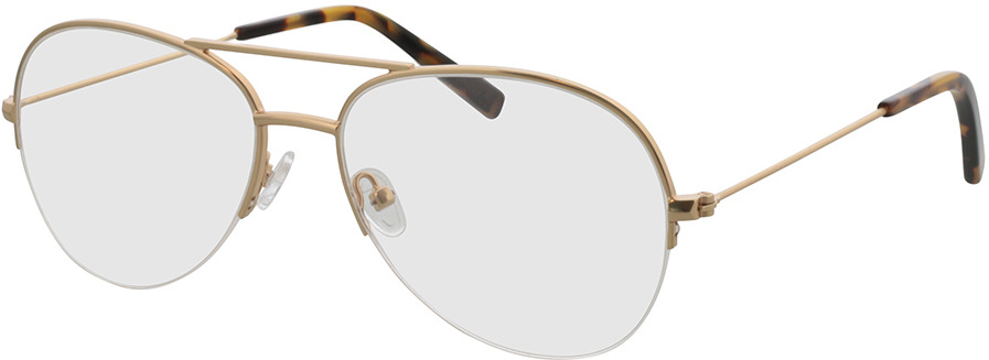 Picture of glasses model Jupiter-gold in angle 330