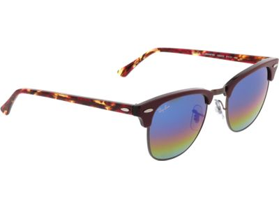 Brille Ray-Ban Clubmaster RB3016 1222C2 51-21