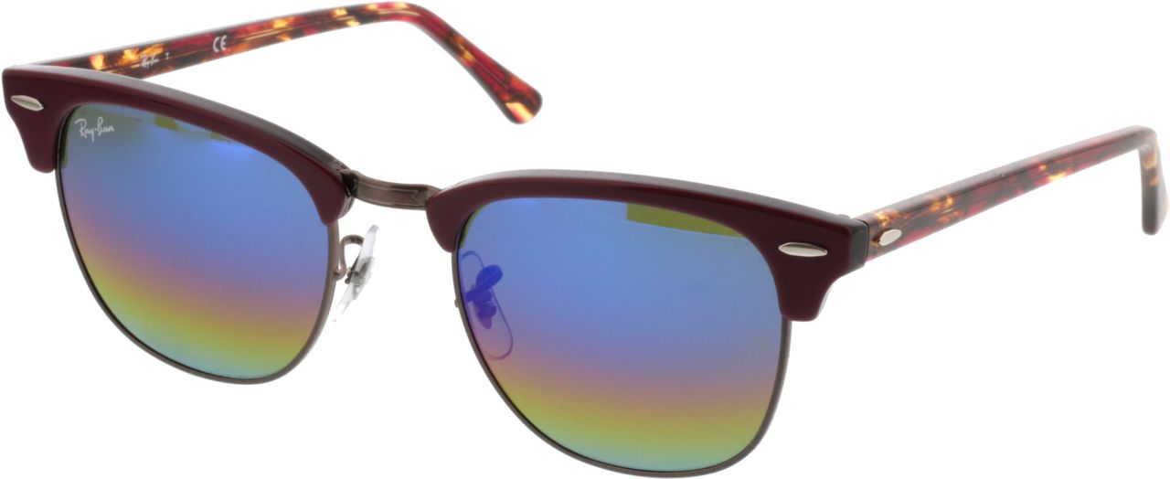 Picture of glasses model Ray-Ban Clubmaster RB3016 1222C2 51-21 in angle 330