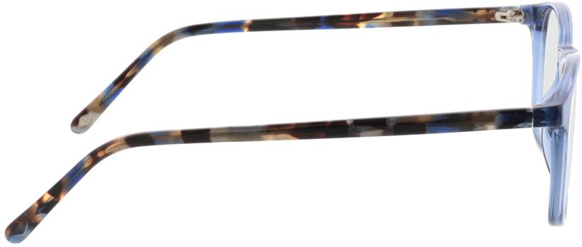 Picture of glasses model Jovia-blau in angle 90