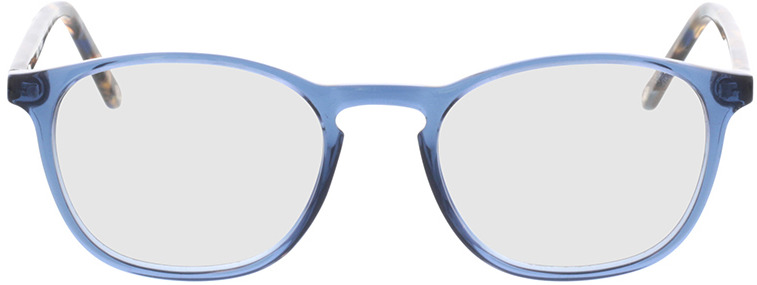 Picture of glasses model Jovia-blau in angle 0