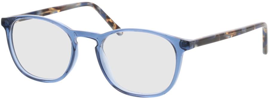 Picture of glasses model Jovia-blau in angle 330